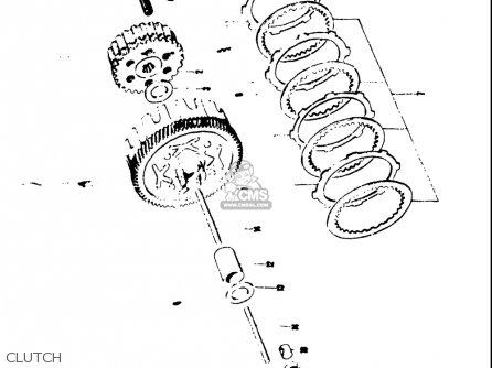 Suzuki As50 Ac50 1971 (usa) parts list partsmanual partsfiche