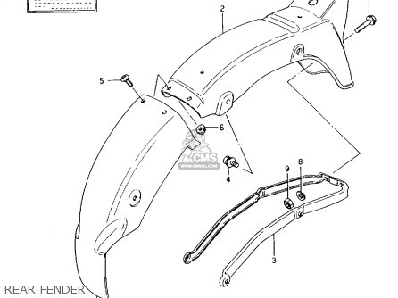 Suzuki Ax100 1994 (r) Barbados (e94) / P36 P48 parts list