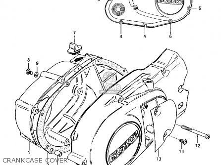 Suzuki AX100 1996 (T) GENERAL EXPORT (E01) / P9 parts