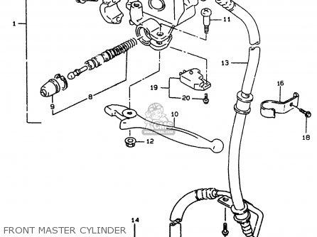 Suzuki Ay50 1999 (x) parts list partsmanual partsfiche
