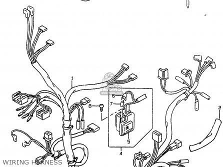 Suzuki Ay50w 1998 (w) parts list partsmanual partsfiche