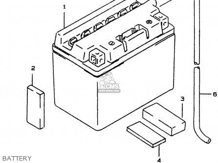 Suzuki Ay50w 1999 (x) parts list partsmanual partsfiche