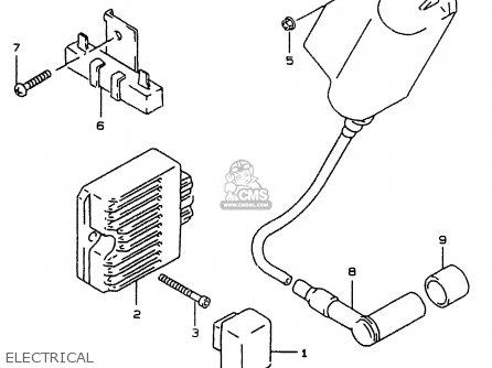 Suzuki AY50W 1999 (X) parts lists and schematics