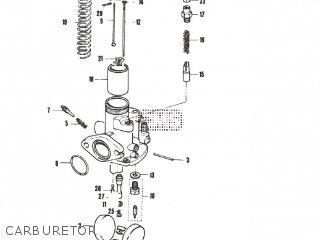 Suzuki B100P parts lists and schematics