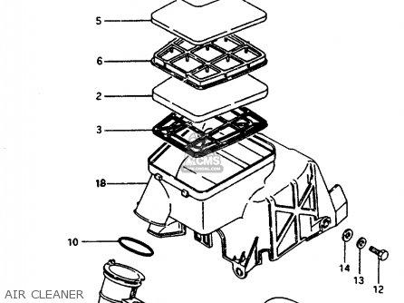 Suzuki Cp50 1991 (chf) parts list partsmanual partsfiche