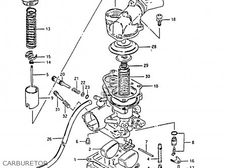 Suzuki Cp50ch 1985 (f) parts list partsmanual partsfiche
