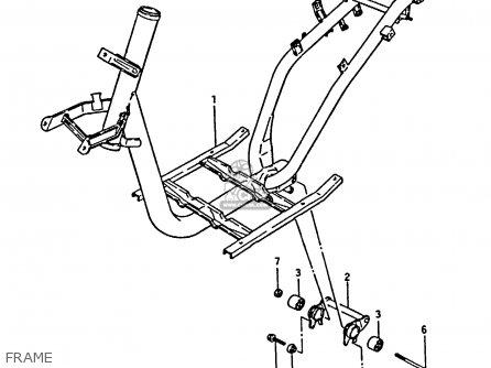 Suzuki Cp50ch 1985 (f) parts list partsmanual partsfiche