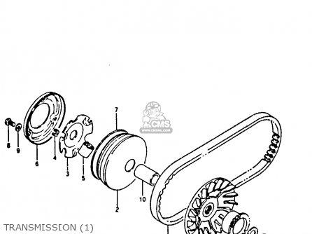 Suzuki CP50CH 1985 (F) parts lists and schematics