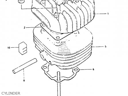 Suzuki CS50 1983 (D) parts lists and schematics