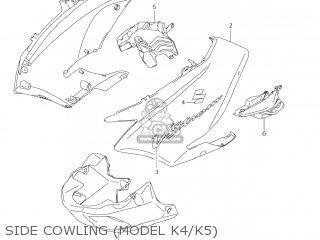 Suzuki Dl1000 Vstrom 2003 (k3) Usa (e03) parts list