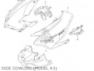 Suzuki DL1000 VSTROM 2004 (K4) USA (E03) parts lists and