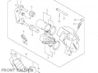 Suzuki DL1000 VSTROM 2006 (K6) USA (E03) parts lists and