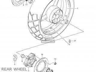Suzuki Dl1000 Vstrom 2007 (k7) Usa (e03) parts list