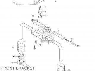 Suzuki DL1000 VSTROM 2008 (K8) USA (E03) parts lists and