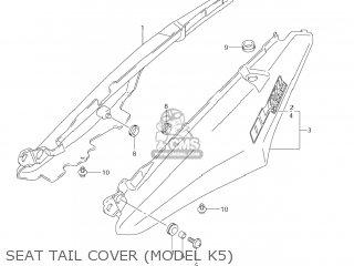 Suzuki DL650 VSTROM 2004 (K4) USA (E03) parts lists and