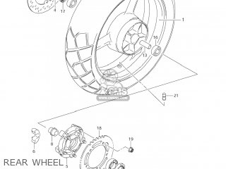 Suzuki DL650 VSTROM 2005 (K5) USA (E03) parts lists and