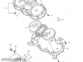 Suzuki Dl650 Vstrom 2007 (k7) Usa (e03) parts list