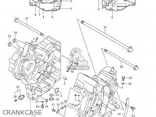 Suzuki Dl650 Vstrom 2008 (k8) Usa (e03) parts list