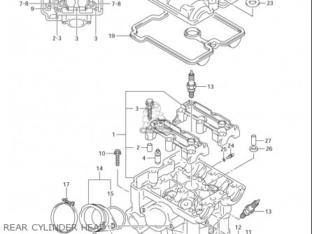 Suzuki Dl650 ,a (usa) parts list partsmanual partsfiche