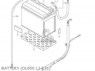 Suzuki Dl650a Vstrom 2011 (l1) Usa (e03) parts list