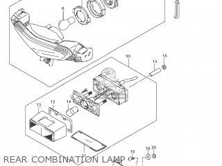Suzuki DL650A VSTROM 2012 (L2) USA (E03) parts lists and