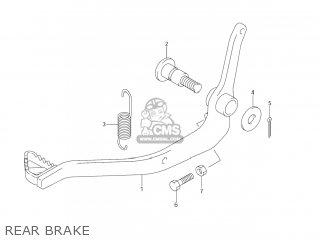 Suzuki DR-Z125 2003 (K3) USA (E03) DRZ125 DR Z125 parts