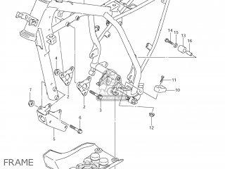 Suzuki DR-Z125 2008 (K8) USA (E03) DRZ125 DR Z125 parts
