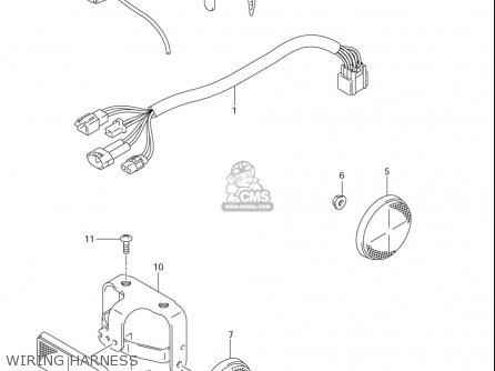 Suzuki Dr-z125 ,l (usa) parts list partsmanual partsfiche