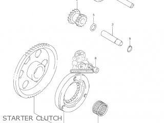 Suzuki DR-Z250 2001 (K1) USA (E03) DRZ250 DR Z250 parts