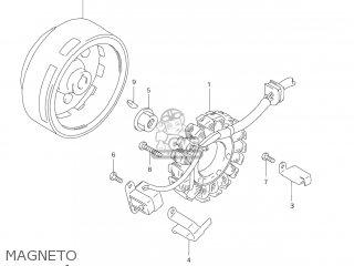 Suzuki Dr-z250 2006 (k6) Usa (e03) Drz250 Dr Z250 parts