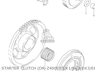 Suzuki DR-Z400 2000 (Y) USA (E03) DRZ400 DR Z400 parts