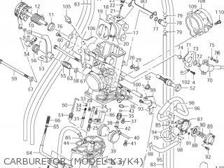 Suzuki DR-Z400 2004 (K4) USA (E03) DRZ400 DR Z400 parts