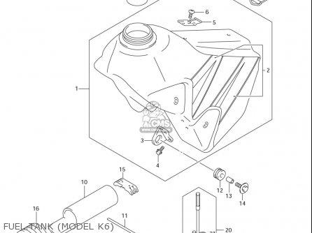 Suzuki Dr-z400 E (usa) parts list partsmanual partsfiche