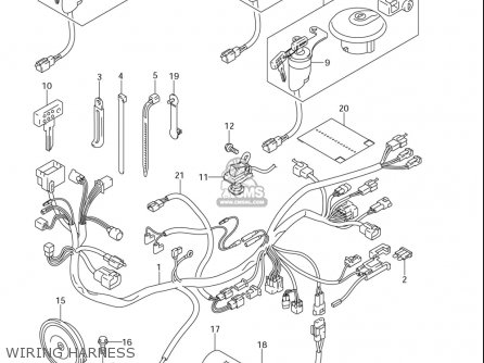 Suzuki Dr-z400 Sm (usa) parts list partsmanual partsfiche