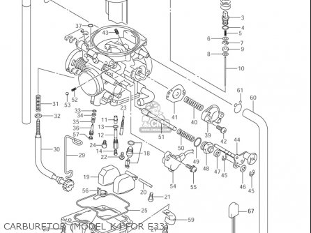 Suzuki Dr-z400 ,e 2000-2004 (usa) parts list partsmanual