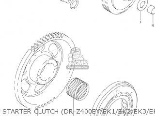 Suzuki DR-Z400E 2002 (K2) USA (E03) DRZ400E DR Z400E parts