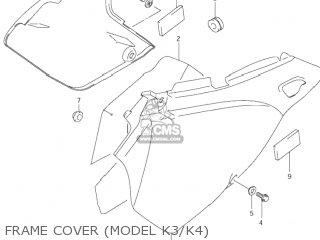 Suzuki DR-Z400E 2003 (K3) USA (E03) DRZ400E DR Z400E parts