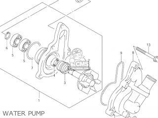 Suzuki DR-Z400E 2004 (K4) USA (E03) DRZ400E DR Z400E parts