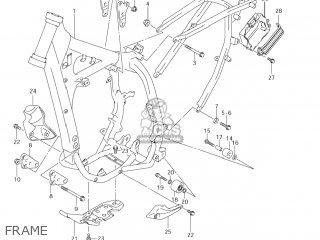 Suzuki DR-Z400E 2006 (K6) USA (E03) DRZ400E DR Z400E parts