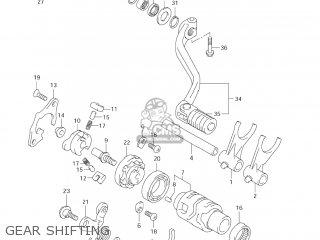 Suzuki DR-Z400E 2007 (K7) USA (E03) DRZ400E DR Z400E parts