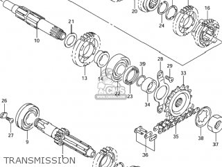 Suzuki DR-Z400S 2000 (Y) USA (E03) DRZ400S DR Z400S parts
