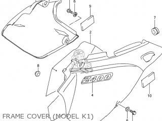 Suzuki DR-Z400S 2004 (K4) USA (E03) DRZ400S DR Z400S parts