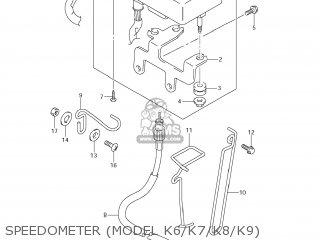 Suzuki DR-Z400S 2007 (K7) USA (E03) DRZ400S DR Z400S parts