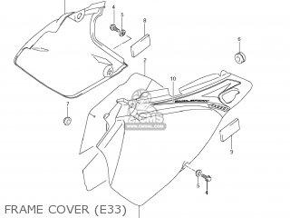 Suzuki DR-Z400S 2012 (L2) USA (E03) DRZ400S DR Z400S parts