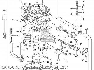 Suzuki DR-Z400SM 2014 (L4) USA (E03) DRZ400SM DR Z400SM