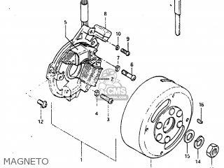 Suzuki DR100 1984 (E) USA (E03) parts lists and schematics