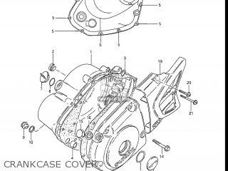 Suzuki DR100 1985 (F) USA (E03) parts lists and schematics