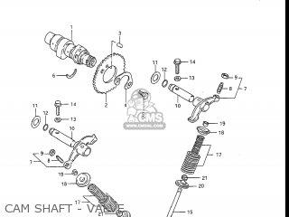 Suzuki Dr100 1986 (g) Usa (e03) parts list partsmanual