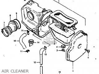 Suzuki Dr125 1984 (e) Usa (e03) parts list partsmanual