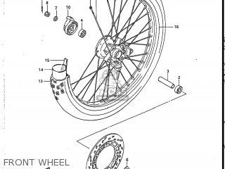 Suzuki DR125 1986 (G) USA (E03) parts lists and schematics